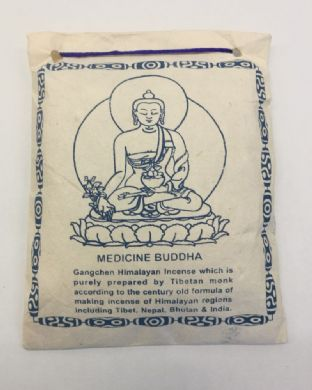 Gangchen | Tibetan Incense Powder | Medicine Buddha | 40g | Made in Nepal